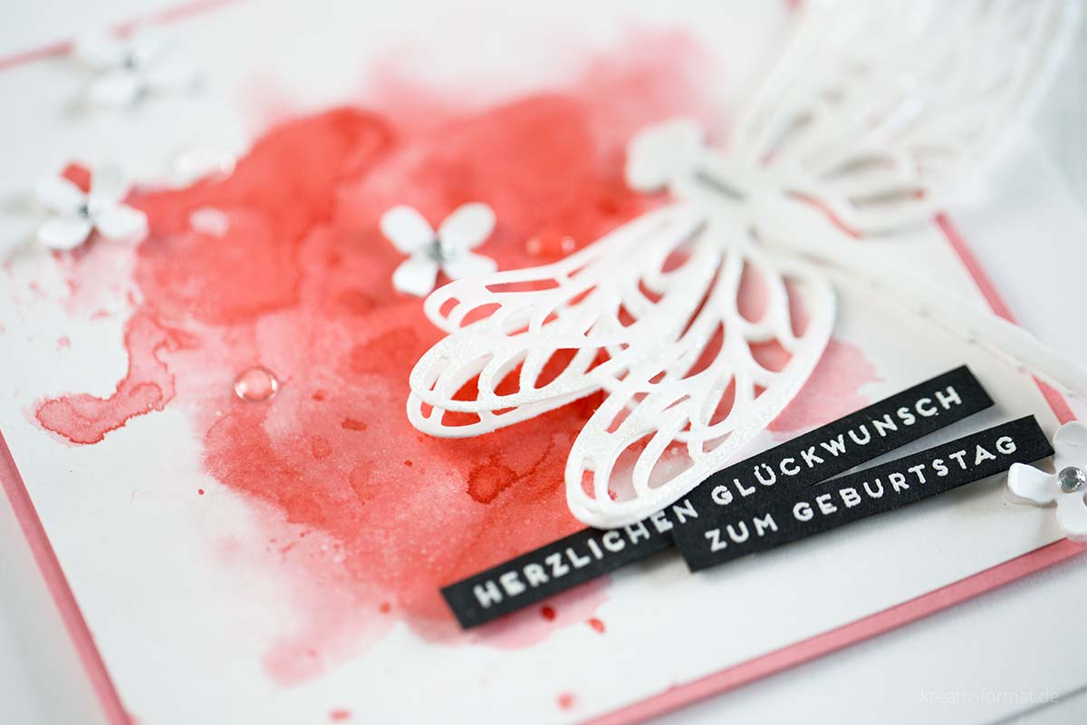 Libellen und Watercolor mit Stampin' Up!