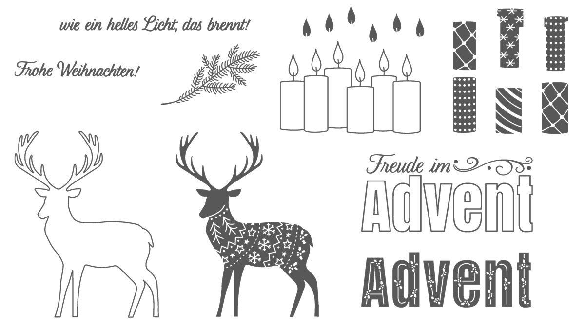 Stampin' Up! Stempelset Freude im Advent