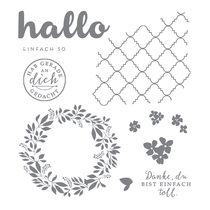 Stampin' Up! Stempelset An dich gedacht