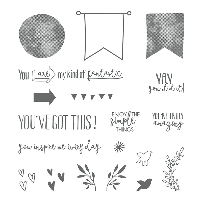 Stampin' Up! Stempelset Yay You